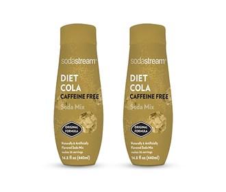 sodastream diet cola caffeine free sodamix