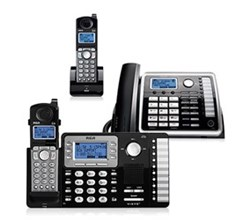 General Electric RCA DECT 6 Three Handset Cordless Phones rca 25252 25055re1 25260 bundle