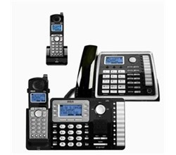 General Electric RCA DECT 6 Three Handset Cordless Phones rca 25212 25055re1 25260 bundle