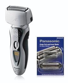 Panasonic ES8103S + Replacement Blade & Foil Men's Nanotech Wet / Dry Shaver at Sears.com