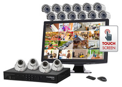 View All Complete Security Systems  lorex lh16516