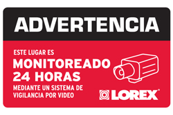 Lorex Accessories  lorex decal sp