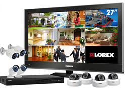 View All Complete Security Systems  lorex lnr88tv