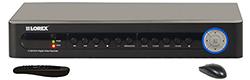 Lorex 8 Channel DVR's  lorex lh 118501