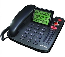 Uniden Wall Phones uniden 1380bk