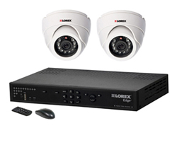 Lorex 2 Camera Systems  lorex lh328501 and 2 sg7351
