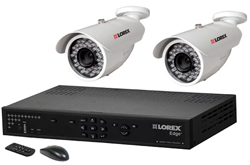 Lorex 2 Camera Systems  lorex lh324501 and 2 lbc6050