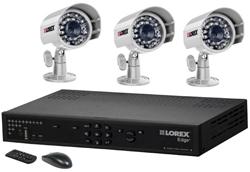 Lorex 3 Camera Systems  lorex lh328501 and 3 cvc7661b