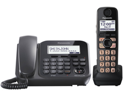 Panasonic Single Line Cordless Phones 2 Handsets panasonic kx tg4771b