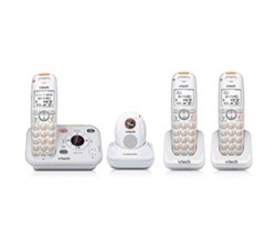 3 Handsets Phones with an Answering Machine   VTech sn6197 2 sn6107