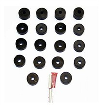 Jeep Body Bushing Kits by Performance Accessories performance accessories 19006
