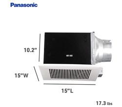 Panasonic View All Ventilation Fans Panasonic fv 20vq3