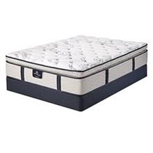 Serta Twin Extra Long Plush Pillow Top Mattress and Boxspring Sets serta green acres spt set