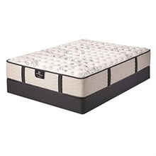 Serta King Size Luxury Firm Mattress and Boxspring Sets serta green acres firm set