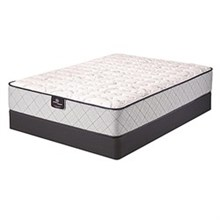 Serta Queen Size Luxury Firm Mattress and Boxspring Sets serta pearson firm set