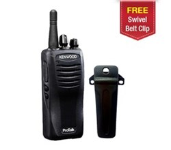 Kenwood Walkie Talkies / Two Way Radios   1 Radio kenwood tk3400u16p