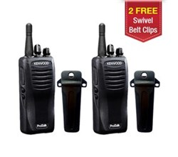 Kenwood Walkie Talkies / Two Way Radios   2 Radio kenwood tk3400u16p