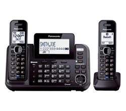 Panasonic 2 Line Cordless Phones panasonic kx tg9542b