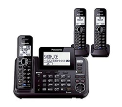 Panasonic 2 Line Cordless Phones panasonic kx tg9543b