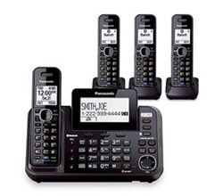 Panasonic 2 Line Cordless Phones panasonic kx tg9544b