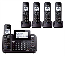 Panasonic 2 Line Cordless Phones panasonic kx tg9545b
