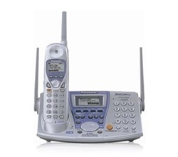Panasonic 2 Line Cordless Phones panasonic kx tg2740