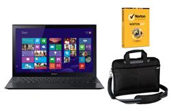 Sony Laptops sony svf15212cxb bundle norton