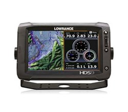 Lowrance HDS 9 Multifunction Fishfinder Chartplotters lowrance hds 9 gen2 touch insight with ss 83 200khz