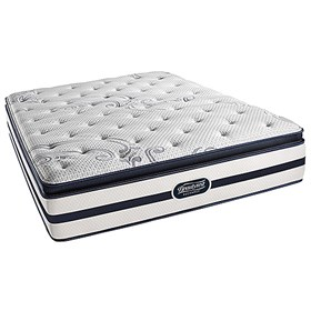 beautyrest recharge north hanover plush pillow top twin size mattress