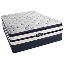 Simmons King Extra Long Size Mattress  beautyrest recharge north hanover plush pillow top king mattress set