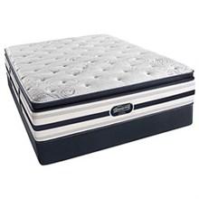 Simmons Twin Extra Long Size Mattress  beautyrest recharge ultra ford plush pillow top twinXL mattress set