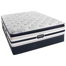 Simmons Full Size Luxury Pillow Top (Softest) Comfort Mattress  beautyrest recharge fair lawn plush pillow top full size set