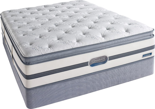 Simmons Songwood Plush Pillow Top Mattress And Low Profile Box Spring - Full Size Simmons Beautyrest Recharge Songwood at Sears.com