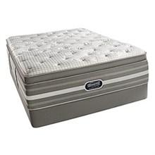 Simmons Queen Size Luxury Pillow Top (Softest) Comfort Mattress  beautyrest recharge world class smyrna ultra plush pillow top queen set
