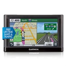 Garmin GPS with Lifetime Maps and Traffic Updates garmin nuvi65 lmt