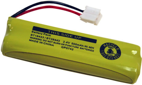 VTech LS-6117 Cordless Phone Battery Replacement for Cordless Phone Battery BATT-28443 Battery