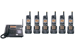 Panasonic 58GHz Cordless Phones panasonic kx tg4500b plus 5 kx tga450b