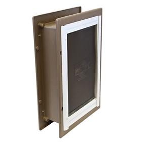 petsafe wall entry aluminum pet door large