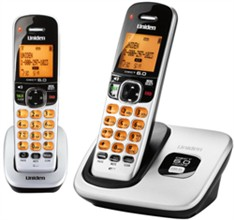Uniden DECT 6 Cordless Phones D1760 2