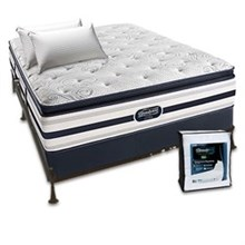 shop simmons beautyrest mattresses online beautyrest recharge ultra fair lawn plush pillow top queen size mattress bundle