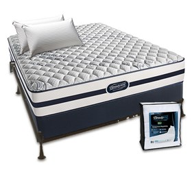 beautyrest recharge north hanover firm twin size mattress bundle