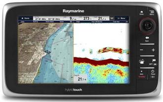 raymarine e97 sonar
