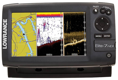 Lowrance 000 10970 001 elite 7 hdi fishfinder transducer for Refurbished humminbird fish finders