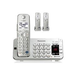 Panasonic 3 Handset Single Line panasonic kx tge273s