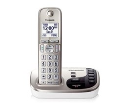 DECT 6.0 Cordless Phones Talking Caller ID panasonic kx tgd220n