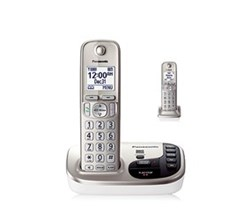 DECT 6.0 Cordless Phones Talking Caller ID panasonic kx tgd222n