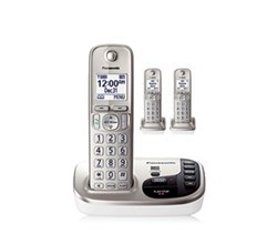 DECT 6.0 Cordless Phones Talking Caller ID panasonic kx tgd223n