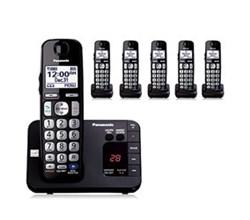 Panasonic 6 Handsets panasonic kx tge236b