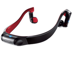 Panasonic Bone Conduction Headphones panasonic rp btgs10