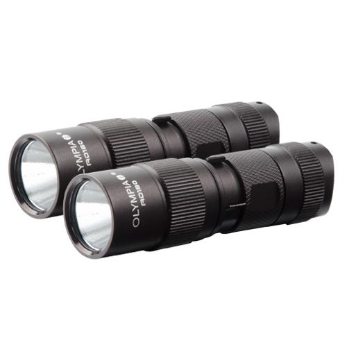 Olympia AD180 (2-Pack) LED Flashlight